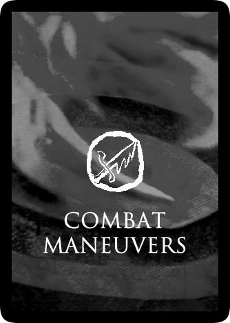Combat Maneuvers